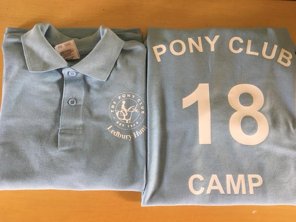 Ledbury Pony Club Camp Poloshirts