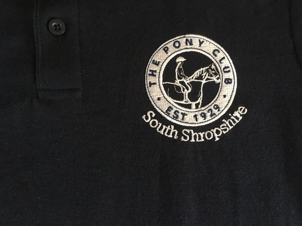 South Shropshire Pony Club Polo Shirt 2