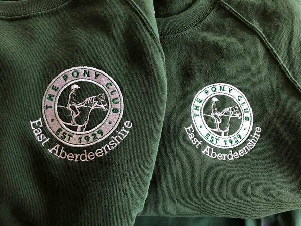 East Aberdeenshire Pony Club Sweatshirt 1