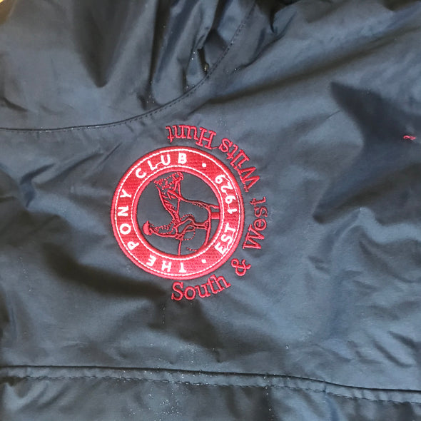 South And West Wilts Hunt Pony Club Waterproof Coat 8