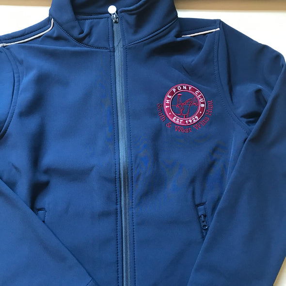 South and West Wilts Hunt Pony Club Softshell Jacket 1