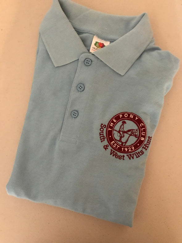 South and West Wilts Hunt Pony Club Polo Shirt