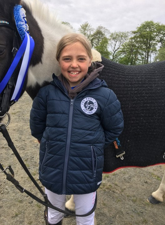 Linlithgow & Stirlingshire Pony Club Children's Padded Jacket