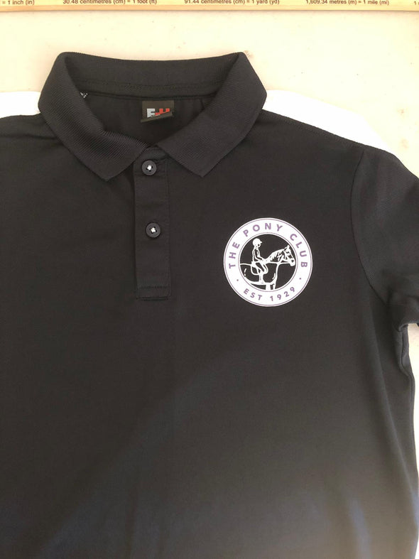 Linlithgow & Stirlingshire Pony Club Ladies Polo Shirt 4