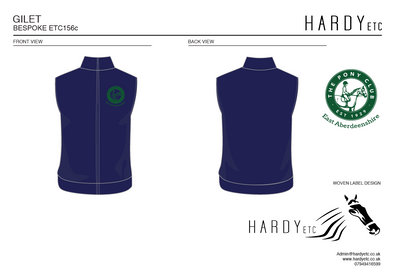 East Abereenshire Pony Club Padded Gilet