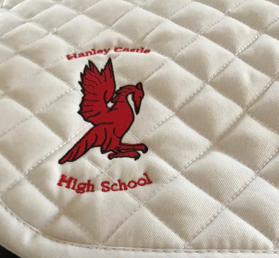 Hanley Castle High School Dressage Saddle Pad