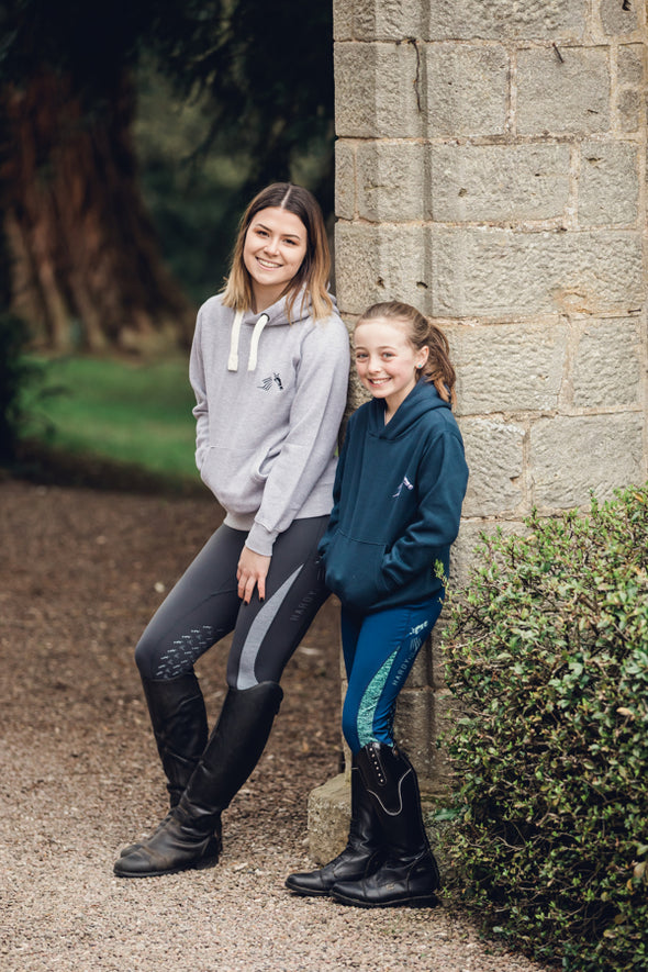Hardy Equestrian Children's Navy Marlbrook Hoodie 3