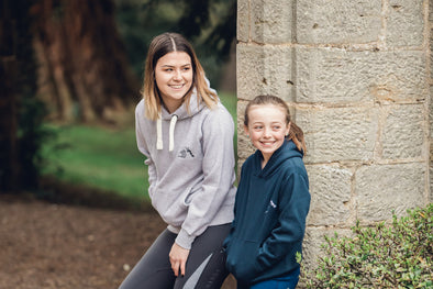 Hardy Equestrian Children's Navy Marlbrook Hoodie