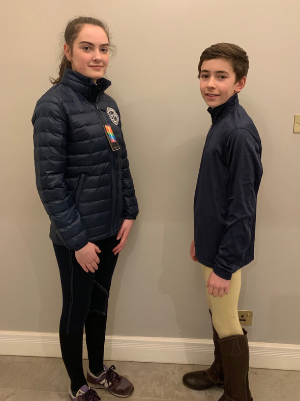 Linlithgow & Stirlingshire Pony Club Children's Softshell Jacket 1