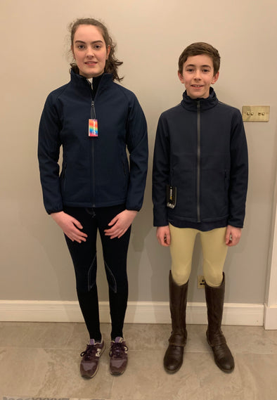 Linlithgow & Stirlingshire Pony Club Children's Softshell Jacket