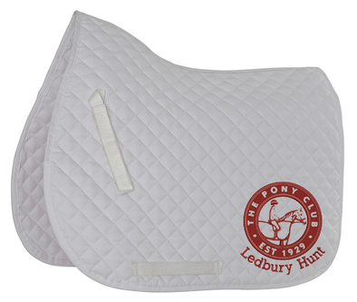 Ledbury Hunt Pony Club Dressage Saddle Pad