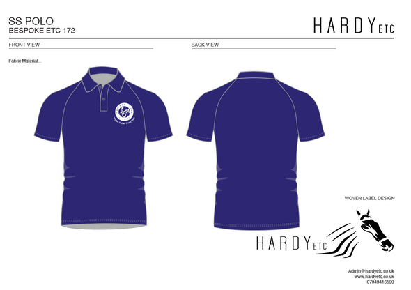 Wylye Valley Pony Club Polo Shirt 2
