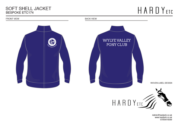 Wylye Valley Pony Club Softshell Jacket 3