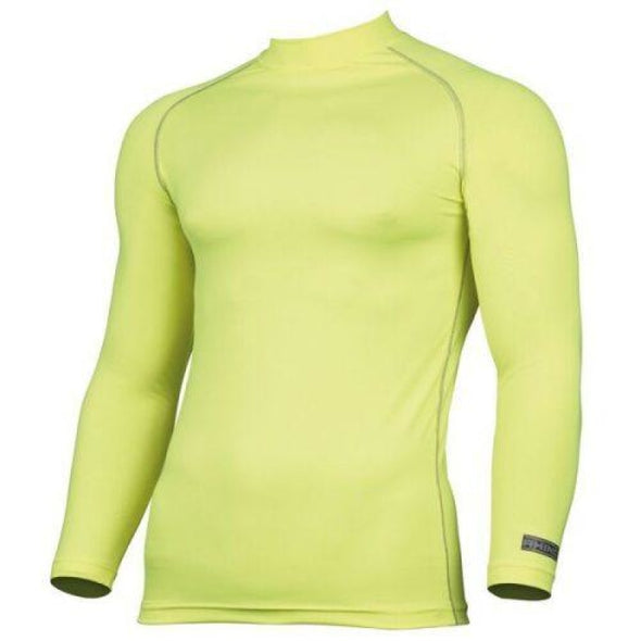 Childrens Rhino Long Sleeved Base Layer Top Bottle Green