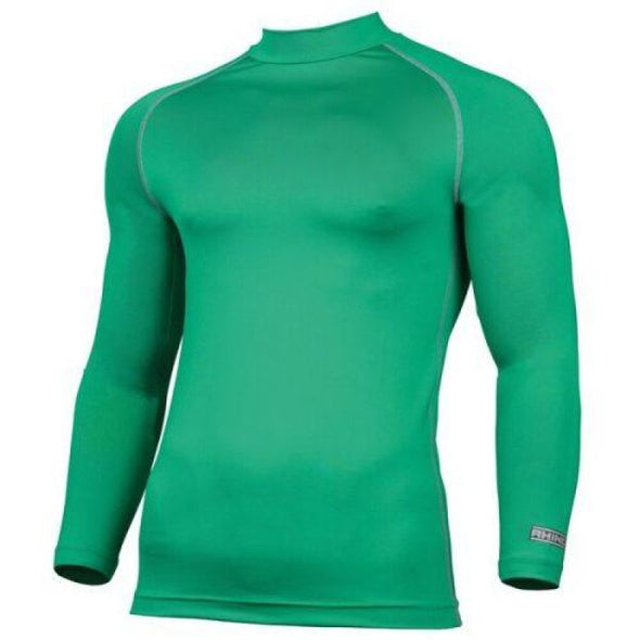 Childrens Rhino Long Sleeved Base Layer Top Green