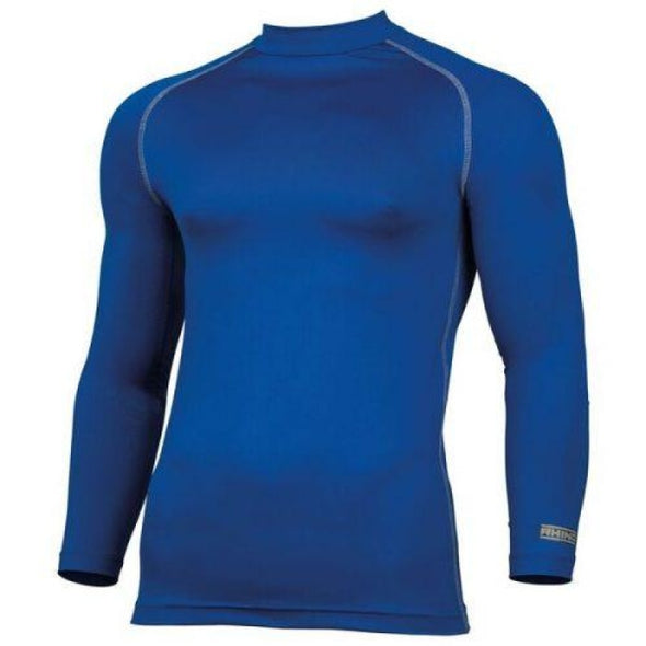 Childrens Rhino Long Sleeved Base Layer Top Royal