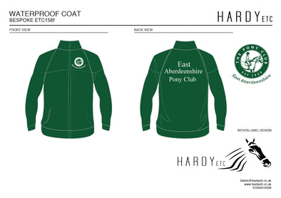 East Aberdeenshire Pony Club Waterproof Coat