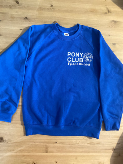 Fylde & District Pony Club Sweatshirt 3