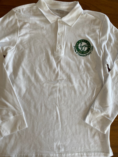 Poole & District Pony Club Long Sleeved Polo 2