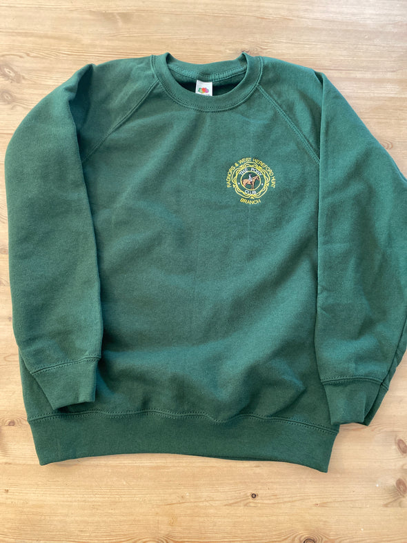 Radnor And West Hereford Pony Club Sweatshirt 1