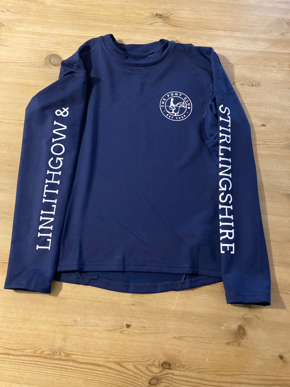 Linlithgow & Stirlingshire Pony Club Base Layer Children's