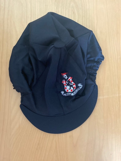 Lucton Equestrian Team Black & Red Hat Silk