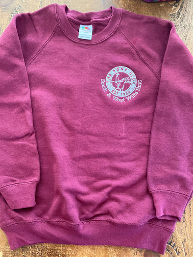 South and West Wilts Hunt Pony Club Sweatshirt 2