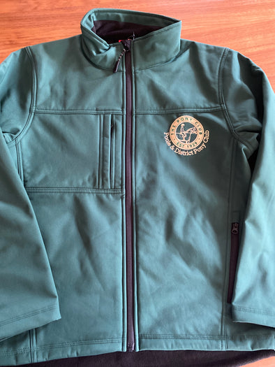 Poole & District Pony Club Adults Softshell Coat 1
