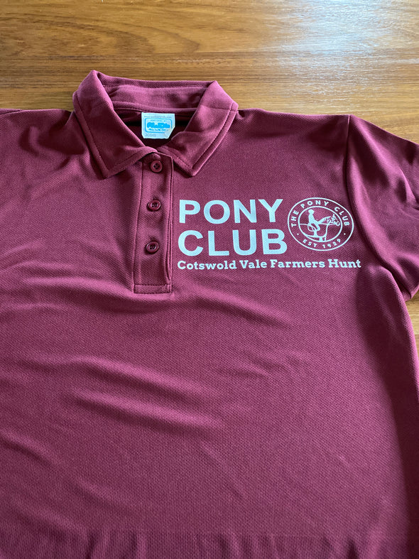 Cotswold Vale Pony Club Polo Shirt 2