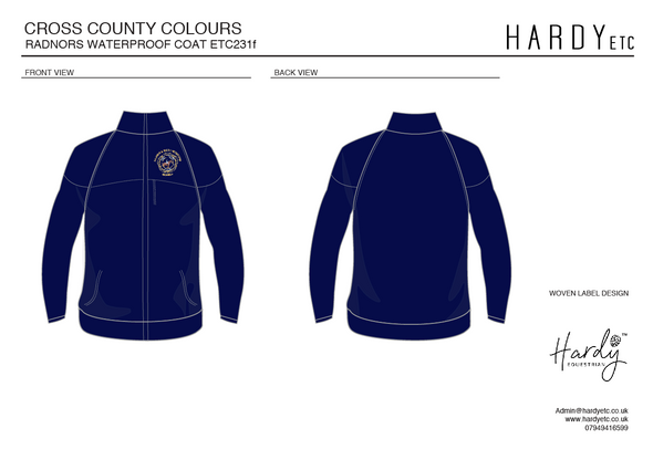 Radnor And West Hereford Pony Club Waterproof Coat