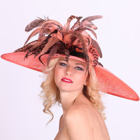 Ladies Kentucky Derby Hats and Fascinators in Louisville Kentucky. Custom hat maker Hat Haven. Hat shop in Louisville Kentucky.
