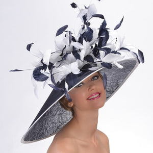 Kentucky derby hats in Louisville Kentucky. Custom hat maker Hat Haven. Millinery hat shop Louisville.
