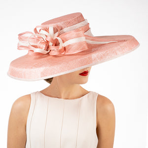 Blush pink Kentucky derby hats Louisville Hat shop Hat Haven