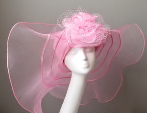 Kentucky Derby hats Louisville Hat Haven Pink Derby Hat floppy hat