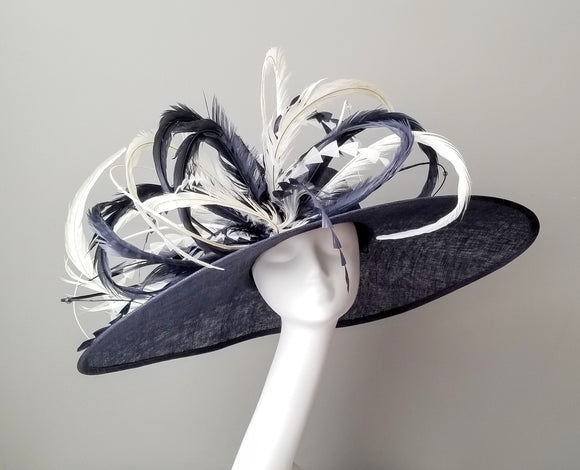 Navy Kentucky derby hats Louisville Hat shop Hat Haven
