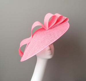 Pink fascinator Kentucky derby hats Louisville Hat shop Hat Haven
