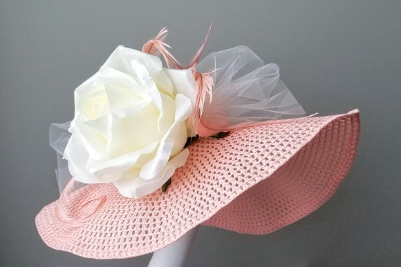 Pink Kentucky derby hats Hat Haven Louisville hat shop