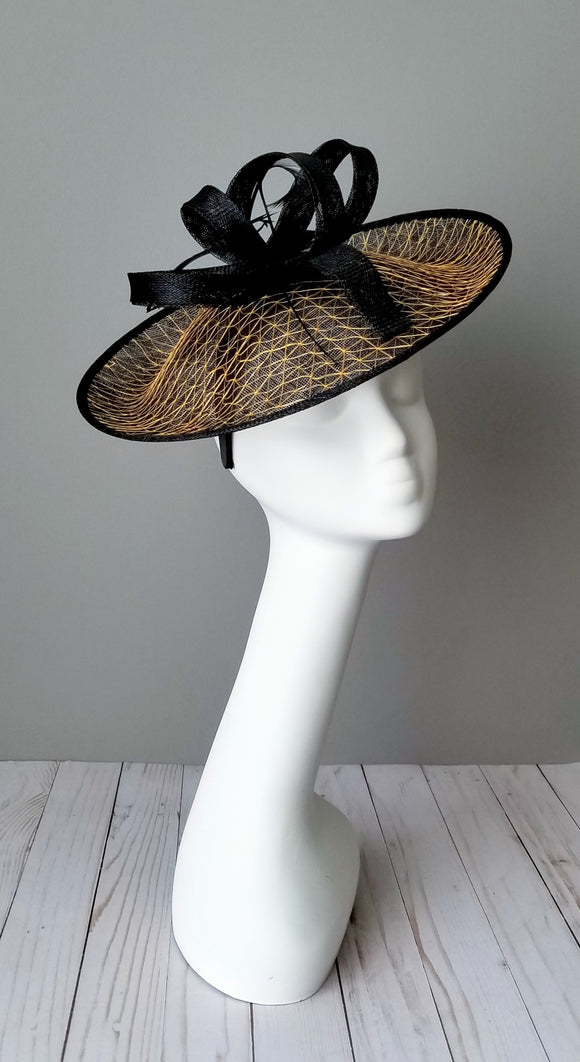 Black fascinator hat shop Louisville Hat Haven