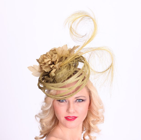 Louisville Kentucky Derby hat HAT HAVEN fascinator