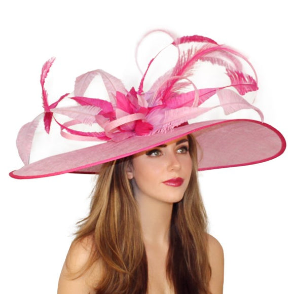 Pink hat Louisville Kentucky Derby hat shop Hat Haven