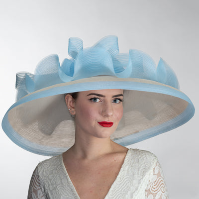 Blue Kentucky derby hats Louisville Hat shop Hat Haven