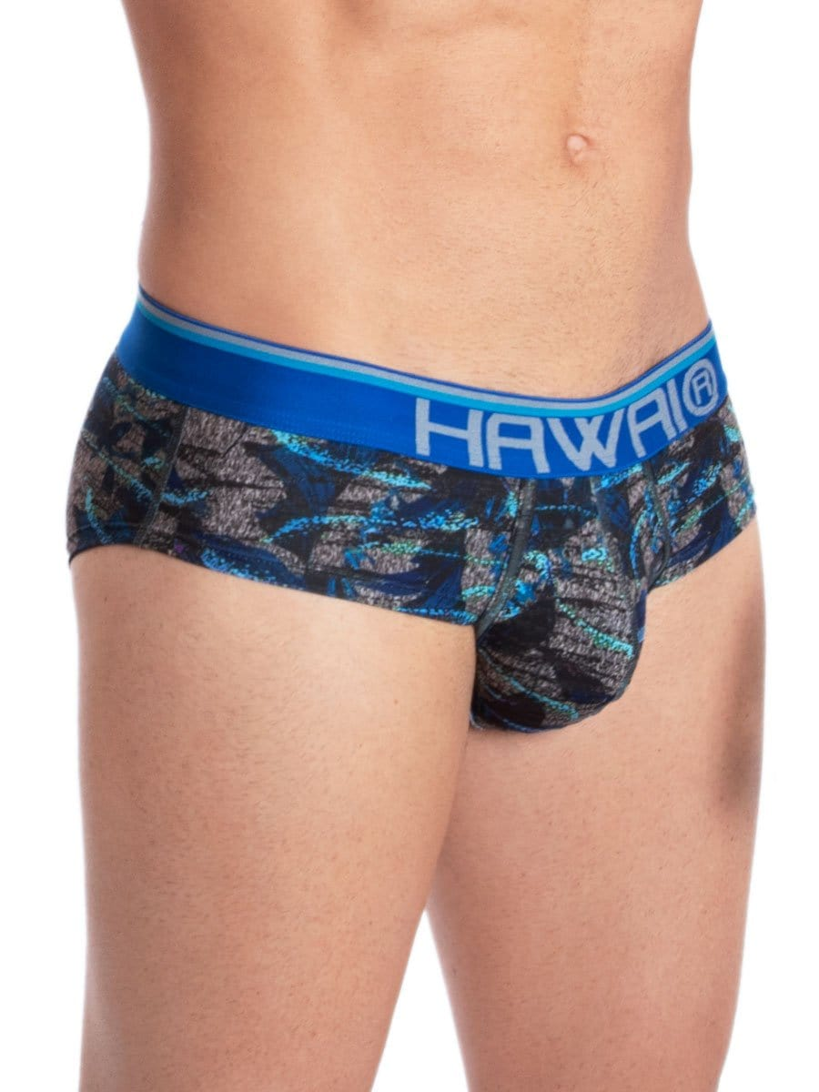 Hip Brief Estampado Azul