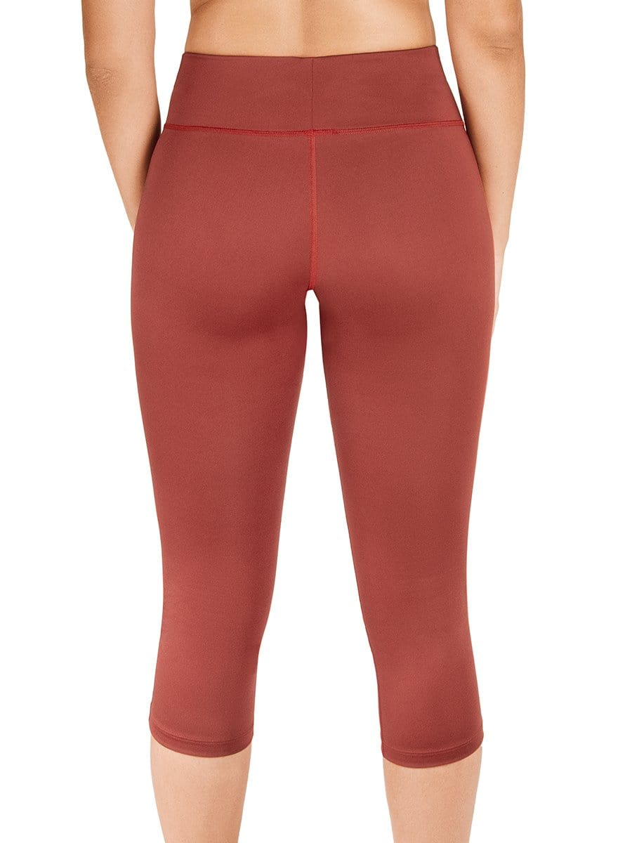 Leggins Capri Terracota