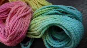 Super Bulky Hand Dyed Yarn
