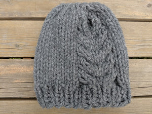 Hemlock Toque - Super Bulky Knitting Pattern