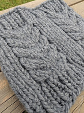 Hemlock Cowl - Super Bulky Knitting Pattern