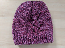 Pineforest Toque - Super Bulky Knitting Pattern