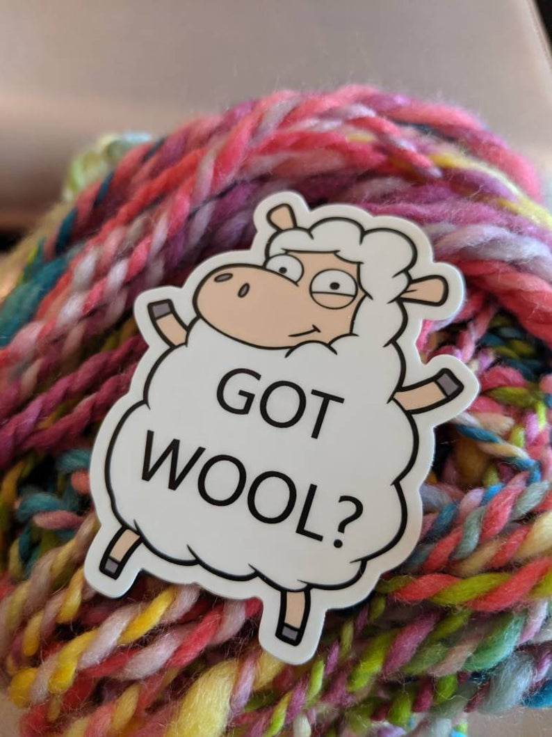 Wool Humor Stickers