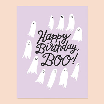 Birthday Boo Card from The Good Twin