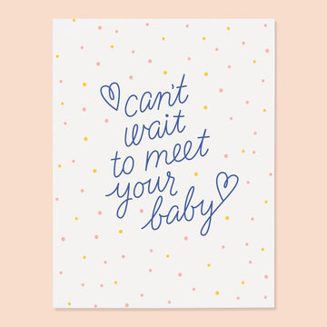 Meet Your Baby Card from The Good Twin